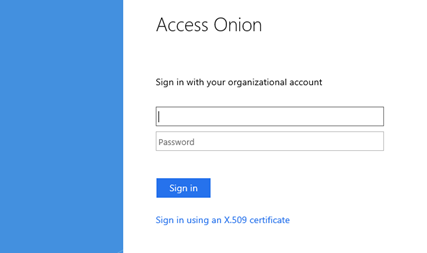 Claims-based Authentication | The Access Onion