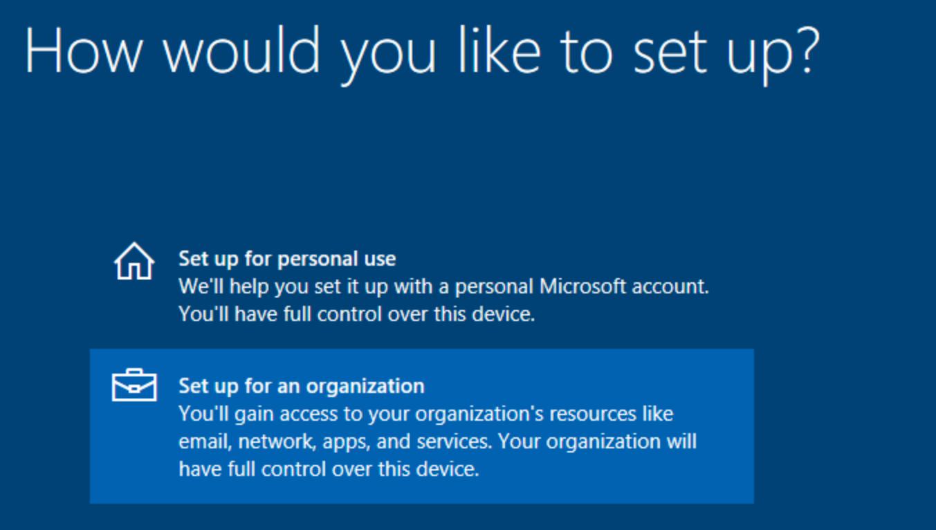 Windows 10 Passwordless – Azure AD Join, Microsoft Intune